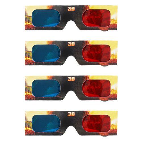 پک چهارعددی عینک سه بعدی مدل Hideous zippleback