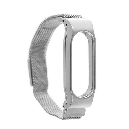 بند مچ بند هوشمند شیائومی مدل Mi Band 2 Stainless Steel Magnetic
