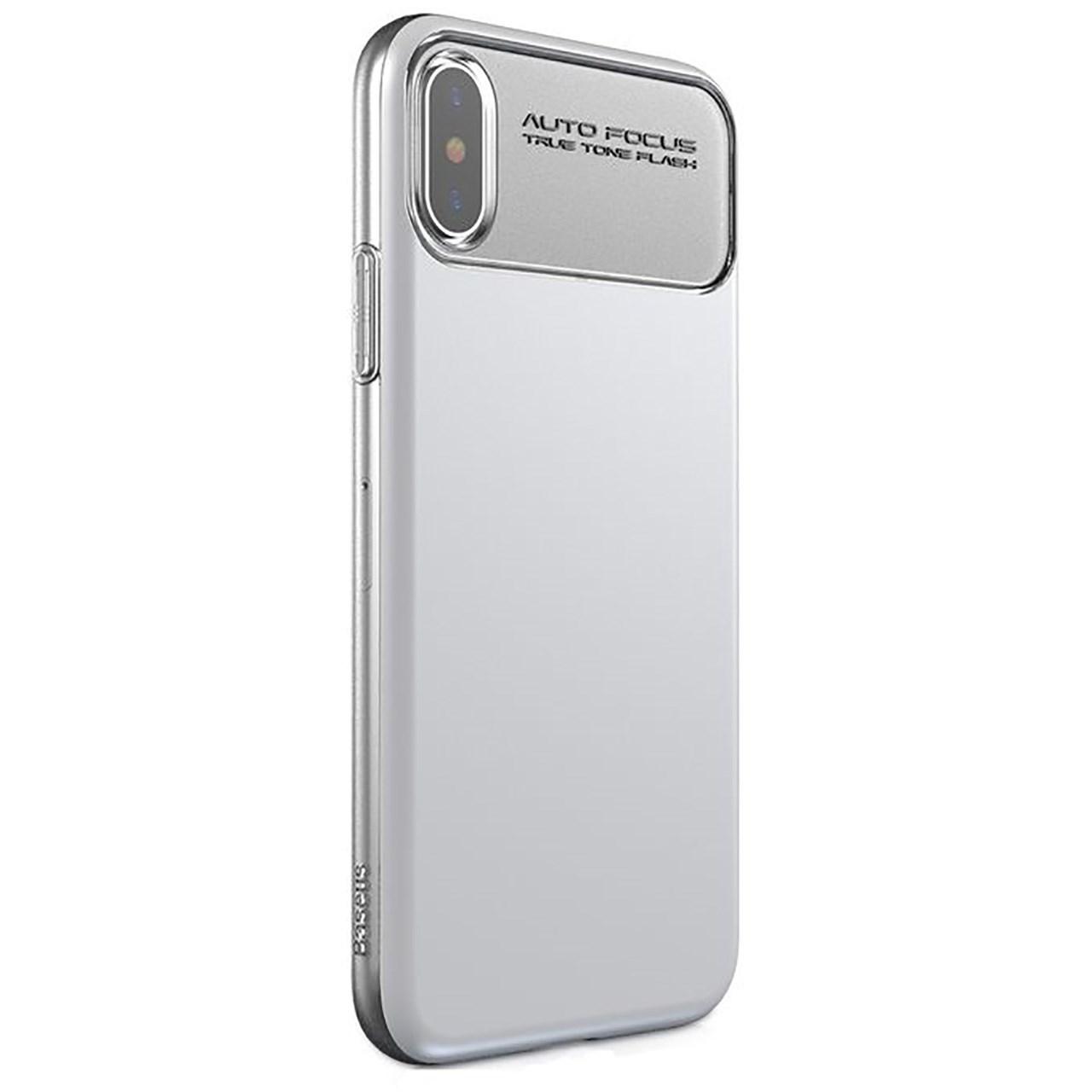 کاور باسئوس مدل Slim Lotus case مناسب برای گوشی موبایل آیفون X/10