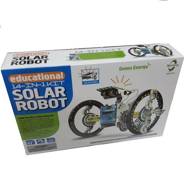 کیت آموزشی رباتیک خورشیدی مدل SR14in1