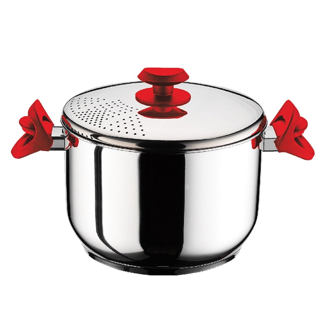 قابلمه پاستا پز هاس جوهر مدل Pasta Pot سایز 22