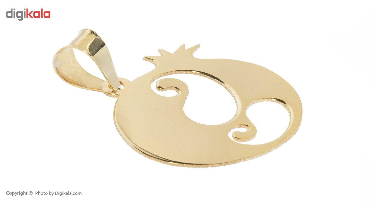 نیم ست طلا 18 عیار ماهک مدل MS0057 - مایا ماهک main 1 3