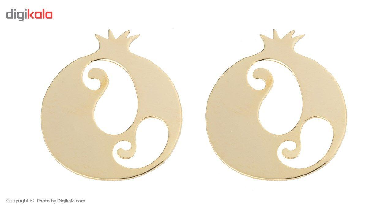 نیم ست طلا 18 عیار ماهک مدل MS0057 - مایا ماهک main 1 4