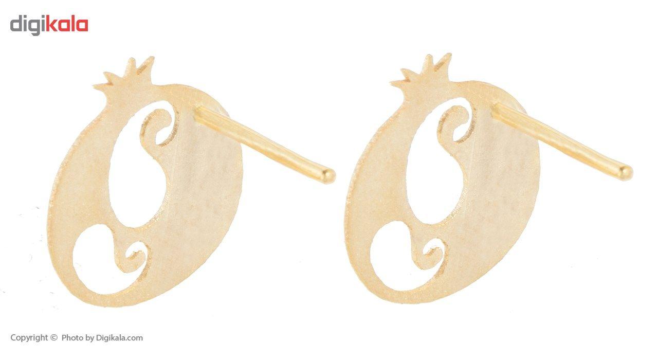 نیم ست طلا 18 عیار ماهک مدل MS0057 - مایا ماهک -  - 4