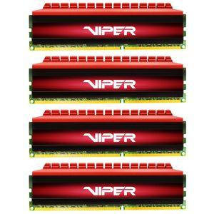 رم دسکتاپ DDR4 دوکاناله 2400 مگاهرتز CL15 پتریوت سری Viper 4 ظرفیت 16 گیگابایت