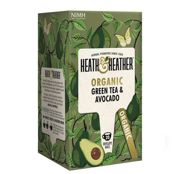 بسته دمنوش هیت و هیتر مدل Green Tea With and Avocado
