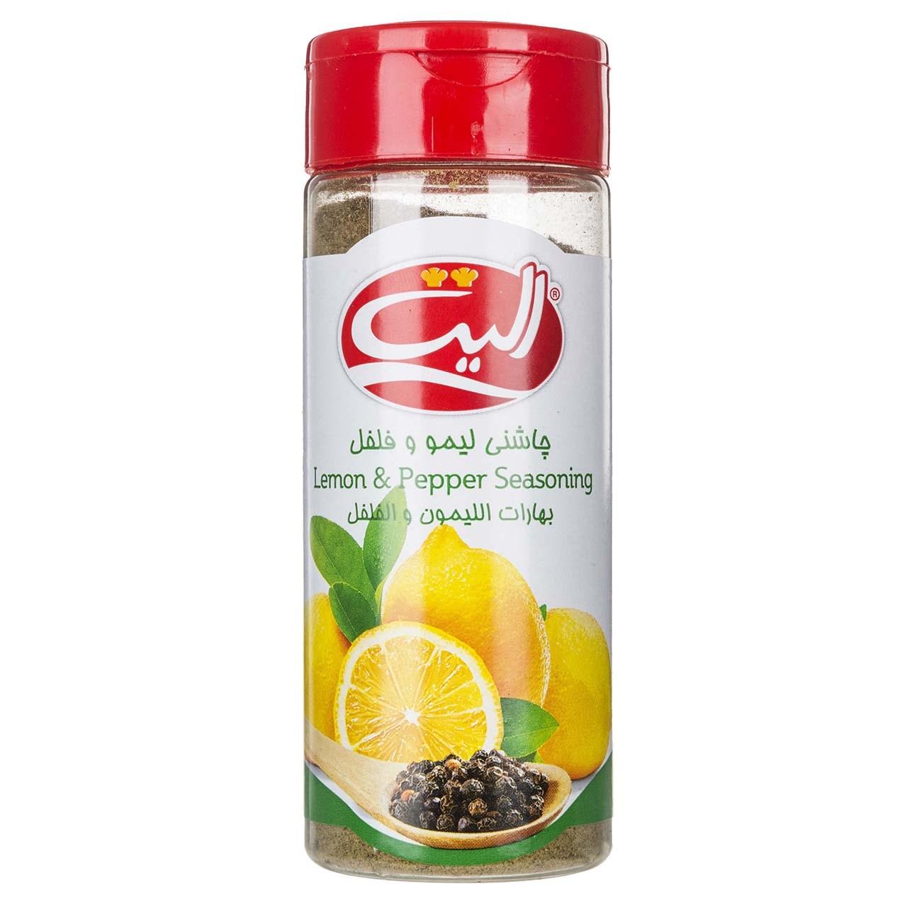 چاشنی لیمو و فلفل الیت مقدار 100 گرم