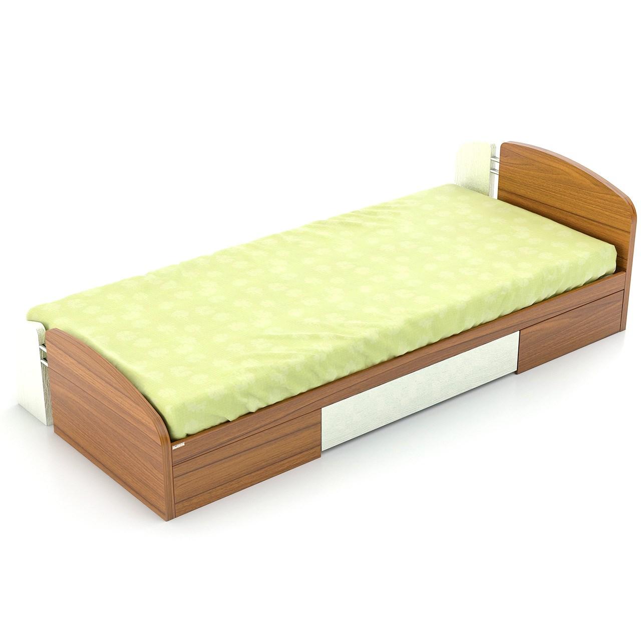 تخت خواب یک نفره فوفل مدل HB 101-B-093-D