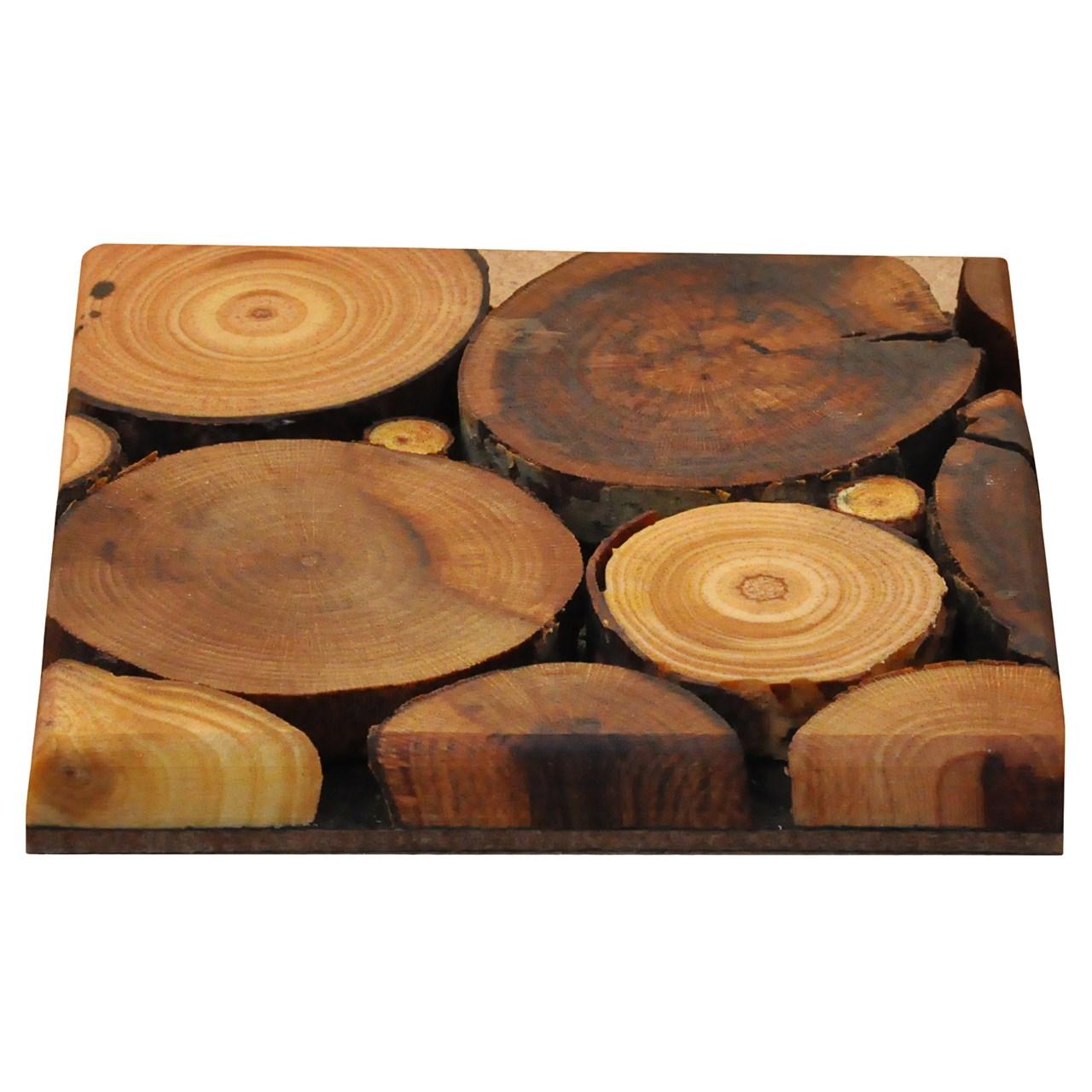 زیرلیوانی چوبی WeWood طرح پازلی مستطیلی