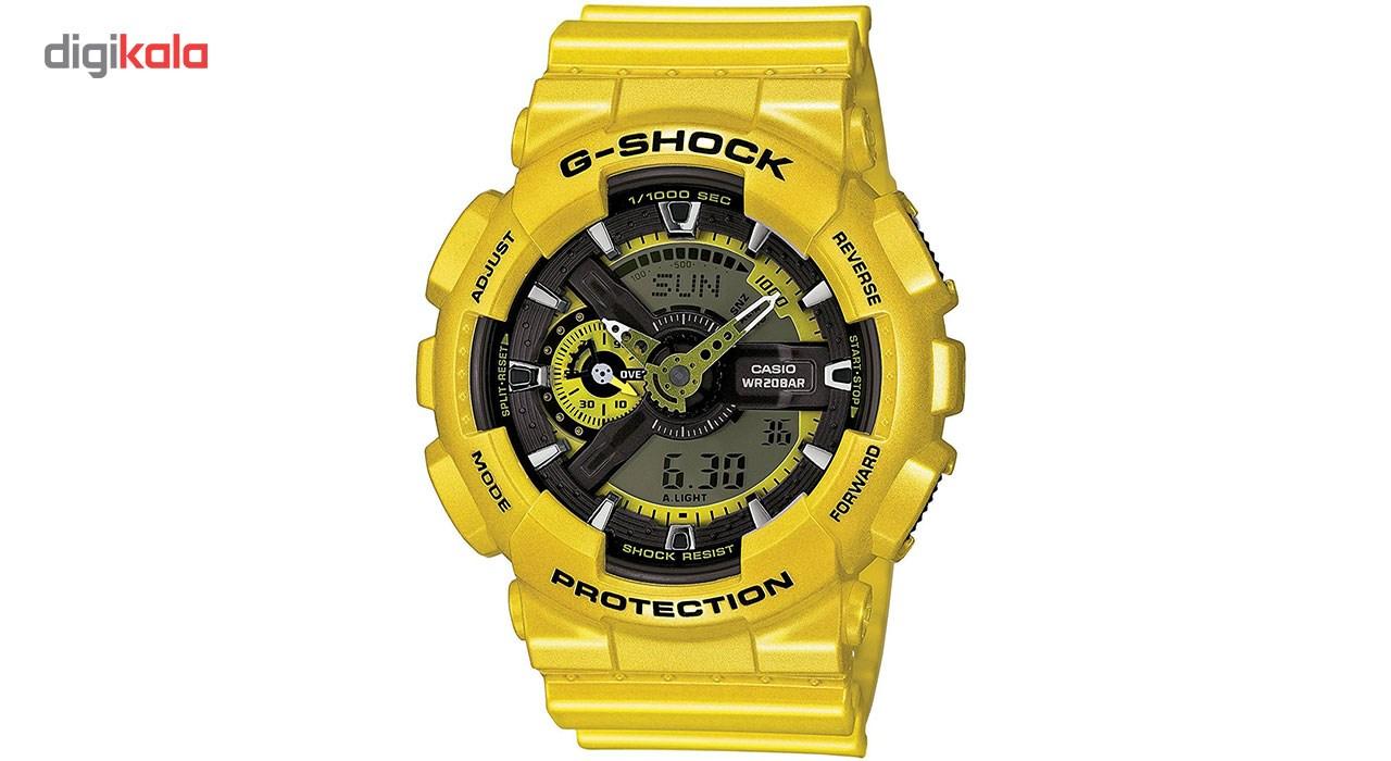 خرید ساعت مچی عقربه ای مردانه کاسیو مدل GA-110NM-9ADR