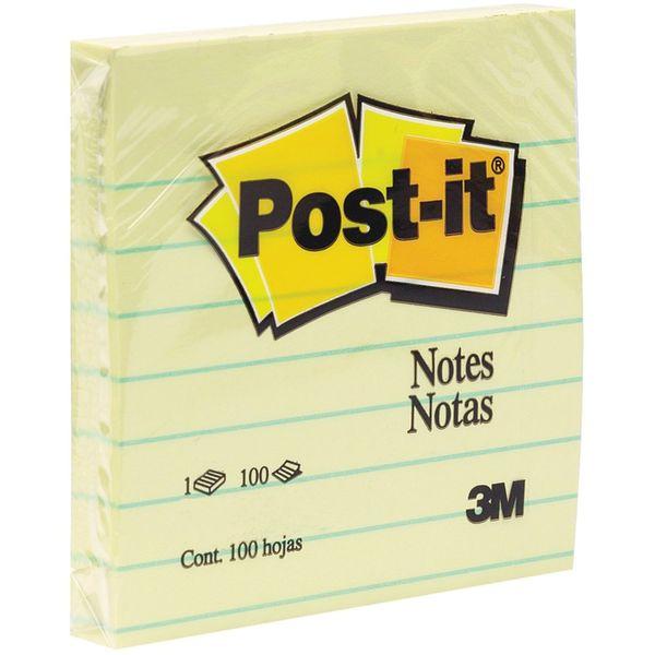 کاغذ یادداشت چسب دار پست ایت کد 630SS بسته 100 عددی