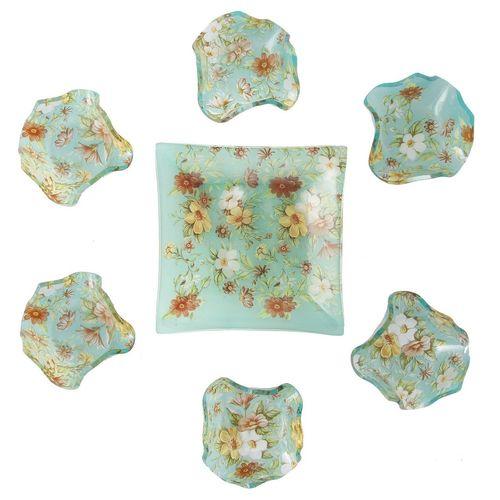مجموعه ظروف هفت سین شیشه ای گالری سیلیس کد 180065