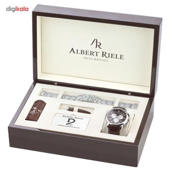 ساعت مچی عقربه ای مردانه آلبرت ریله مدل 711GQ07-SS83I-LN-K1 تولید محدود