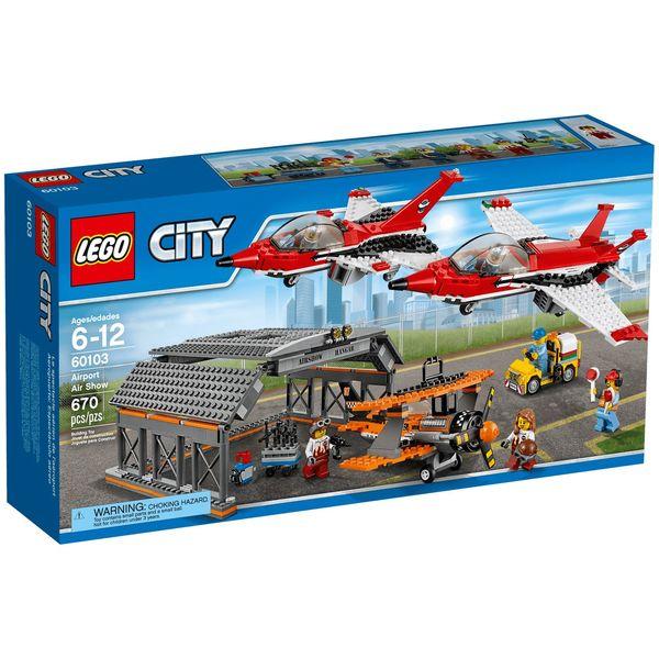 لگو سری City مدل Airport Air Show 60103