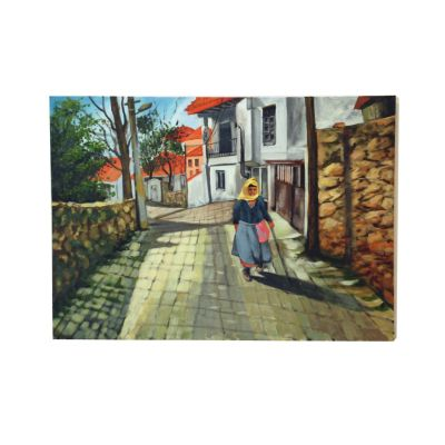 Photo of تابلو نقاشی گالری آلاپریما طرح بهاری دیگر مدل AS20