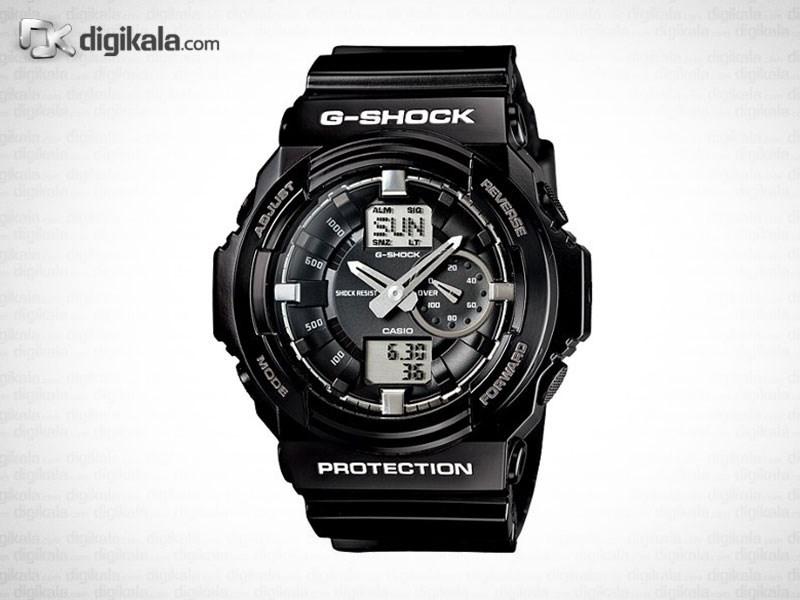خرید ساعت مچی عقربه ای مردانه کاسیو جی شاک GA-150BW-1ADR | ساعت مچی