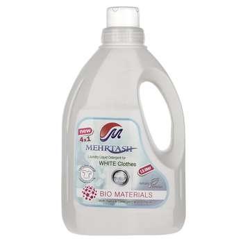 مایع لباسشویی مخصوص لباس های سفید مهرتاش حجم 1.5 لیتر