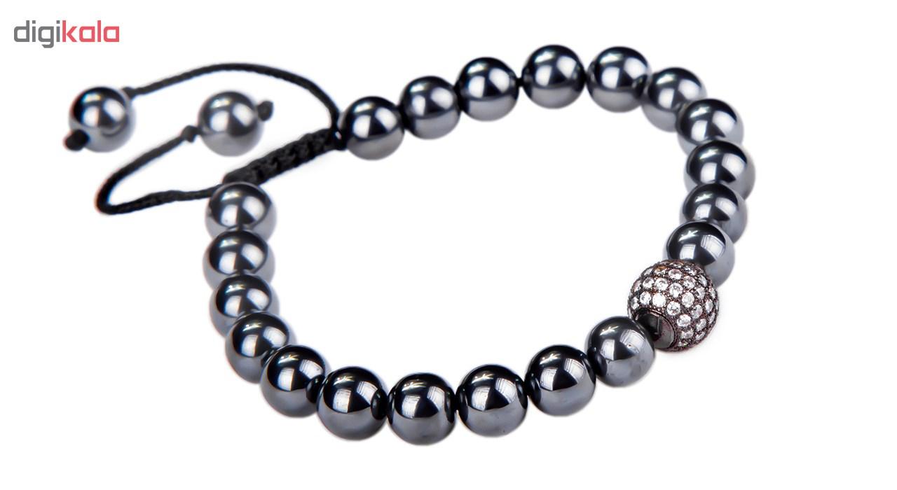 دستبند ریحان مدل Hematite