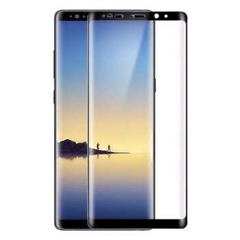 محافظ صفحه نمایش شیشه ای تمپرد مدل Full Cover مناسب برای گوشی موبایل سامسونگ Galaxy note 8