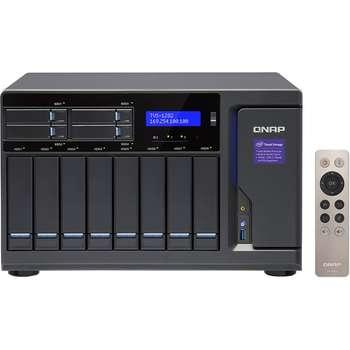ذخیره ساز تحت شبکه کیونپ مدل TVS-1282-i7-32G بدون دیسک   Qnap TVS-1282-i7-32G NAS - Diskless