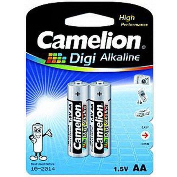 باتری قلمی کملیون مدل Digi Alkaline LR6-BP2DGP بسته 2 عددی