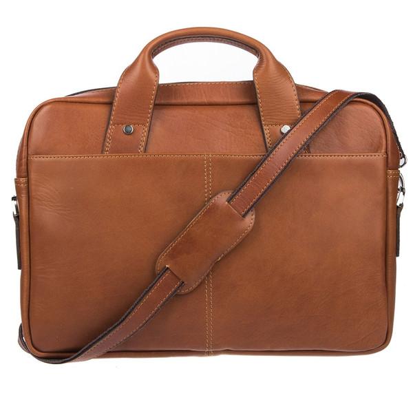 کیف اداری چرم طبیعی گالری ماندگار کد 136005