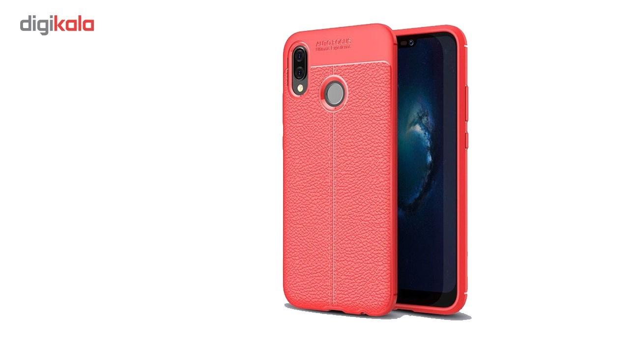 کاور ژله ای طرح چرم مناسب برای گوشی موبایل هواوی Nova 3e/P20 Lite main 1 2
