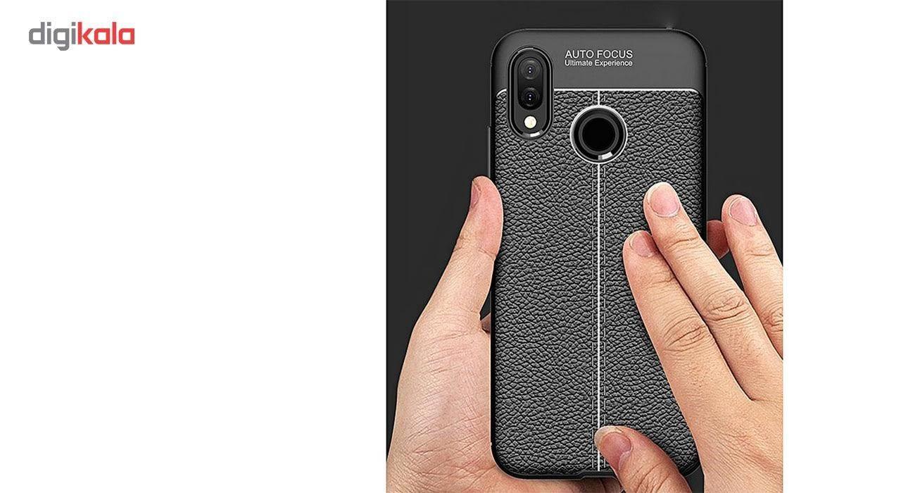 کاور ژله ای طرح چرم مناسب برای گوشی موبایل هواوی Nova 3e/P20 Lite main 1 4