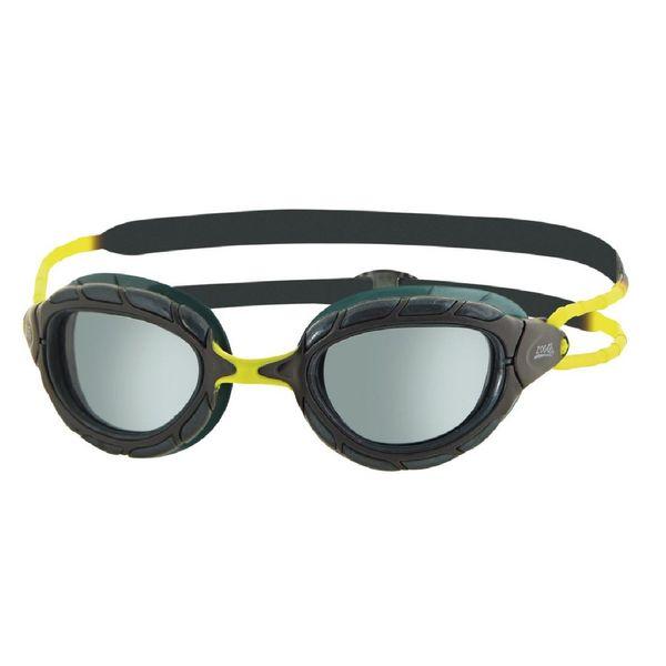 عینک شنای زاگز مدل Predator black lime smoke2018