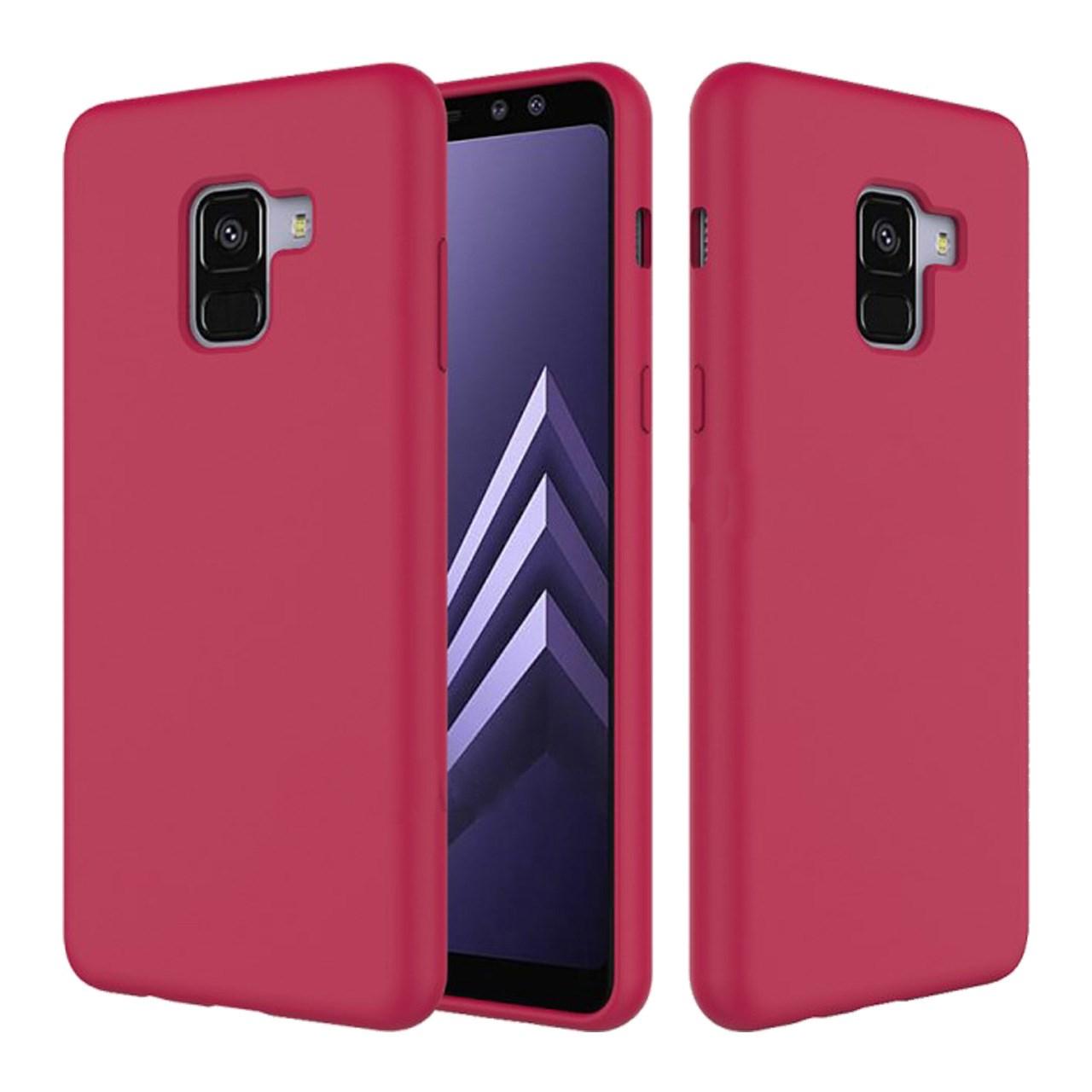 کاور مدل Silicone مناسب برای گوشی موبایل سامسونگ A8 Plus 2018