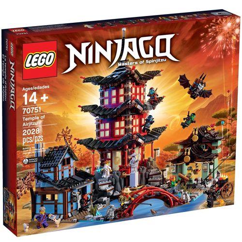 لگو سری Ninjago مدل Temple Of Airjitzu 70751