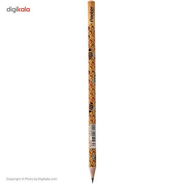مداد مشکی پنتر مدل Honey Bee - بسته 12 عددی main 1 2