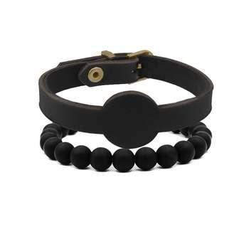 دستبند مردانه رزالیا مدل RBR-MM-L-6 مجموعه 2 عددی