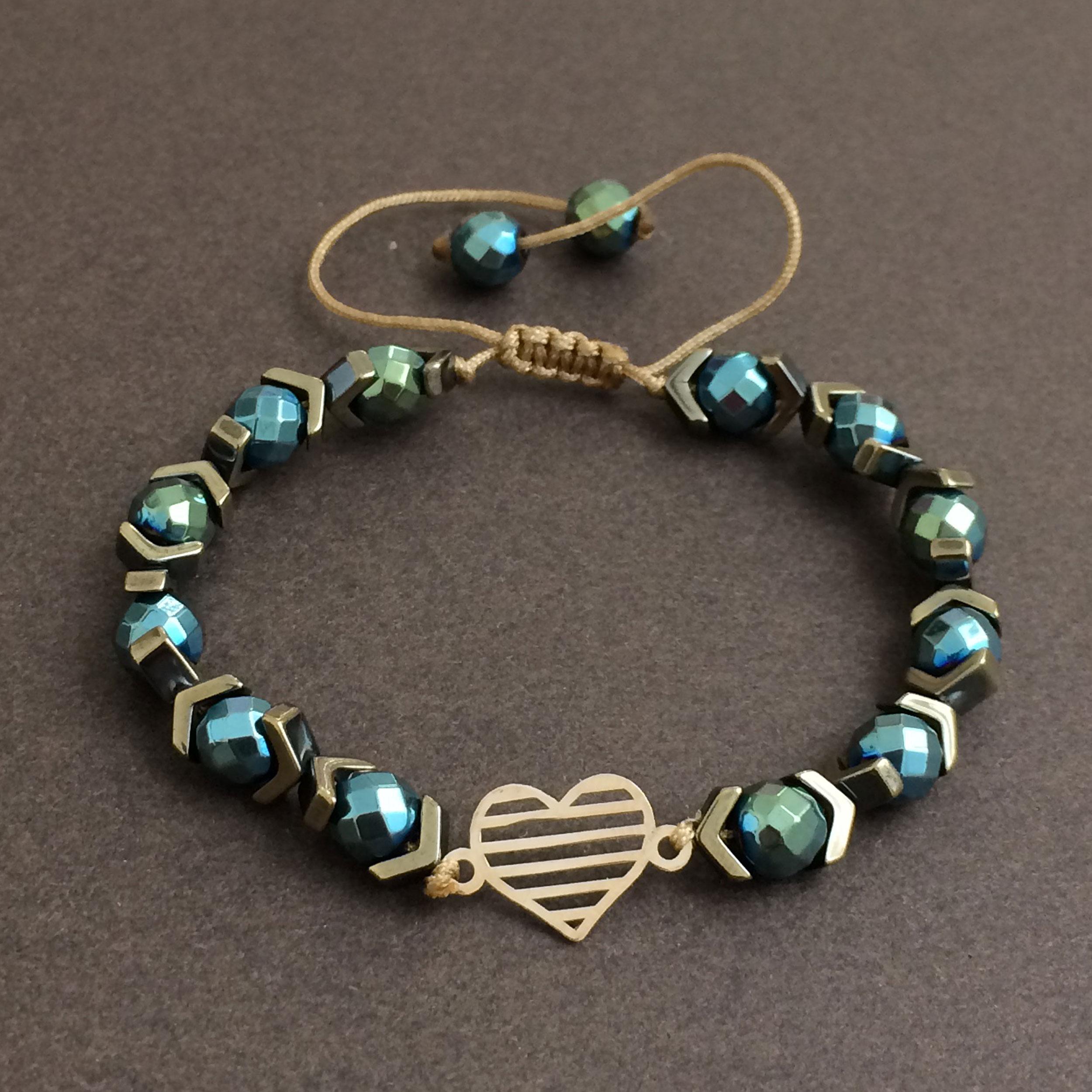 دستبند طلا 18 عیار زنانه الماسین آذر کد GHALB02 -  - 2