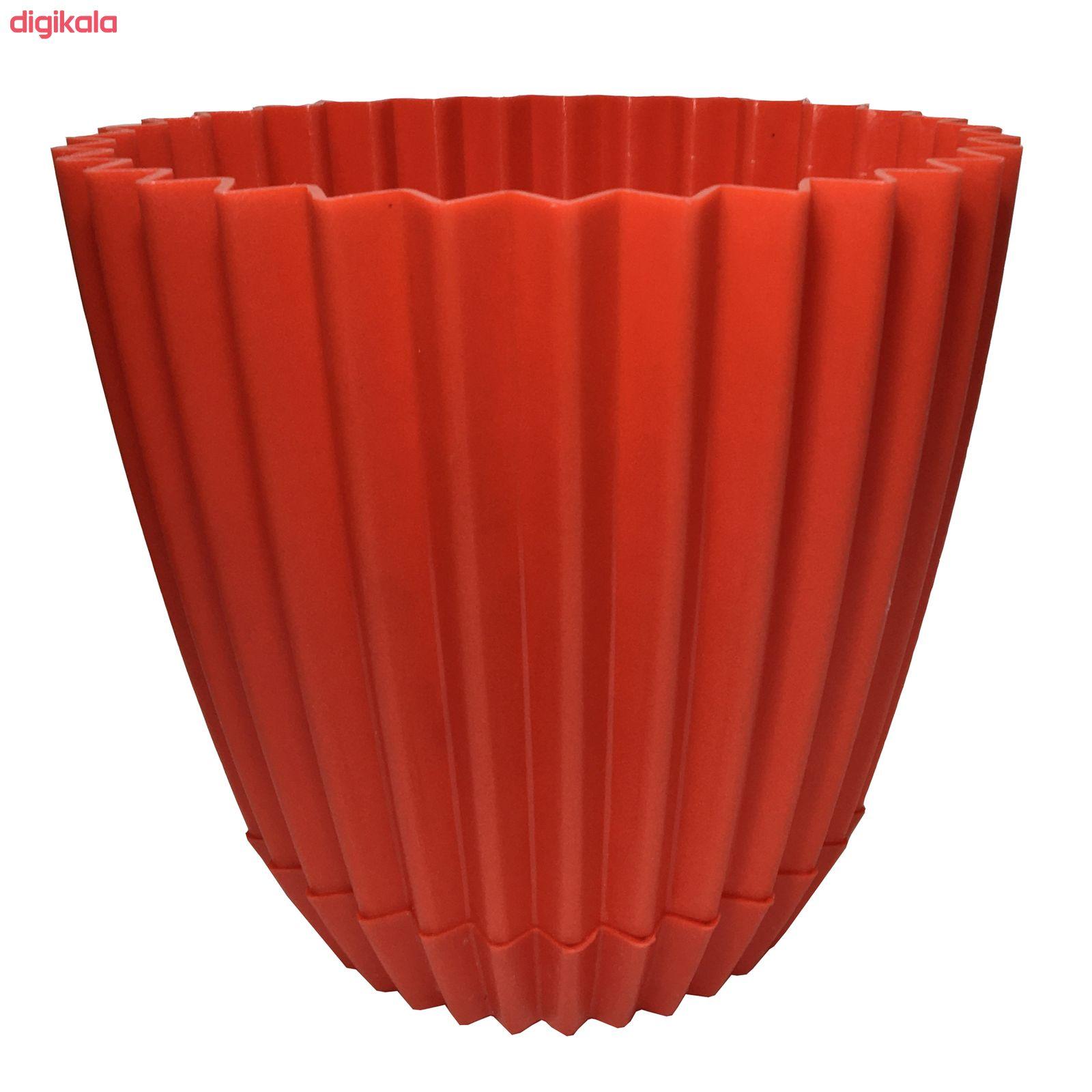گلدان دانیال پلاستیک کد 1012 مجموعه 8 عددی main 1 3