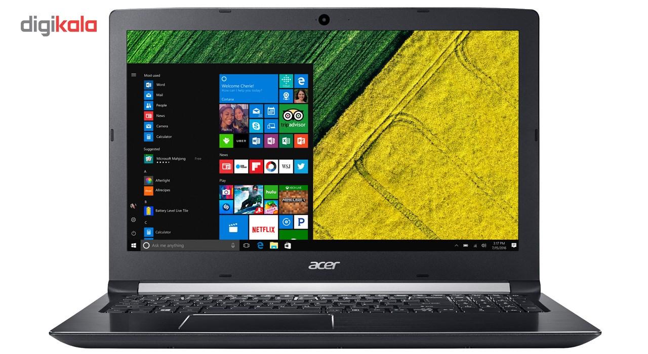 لپ تاپ 15 اینچی ایسر مدل Aspire A515-51G-50TQ