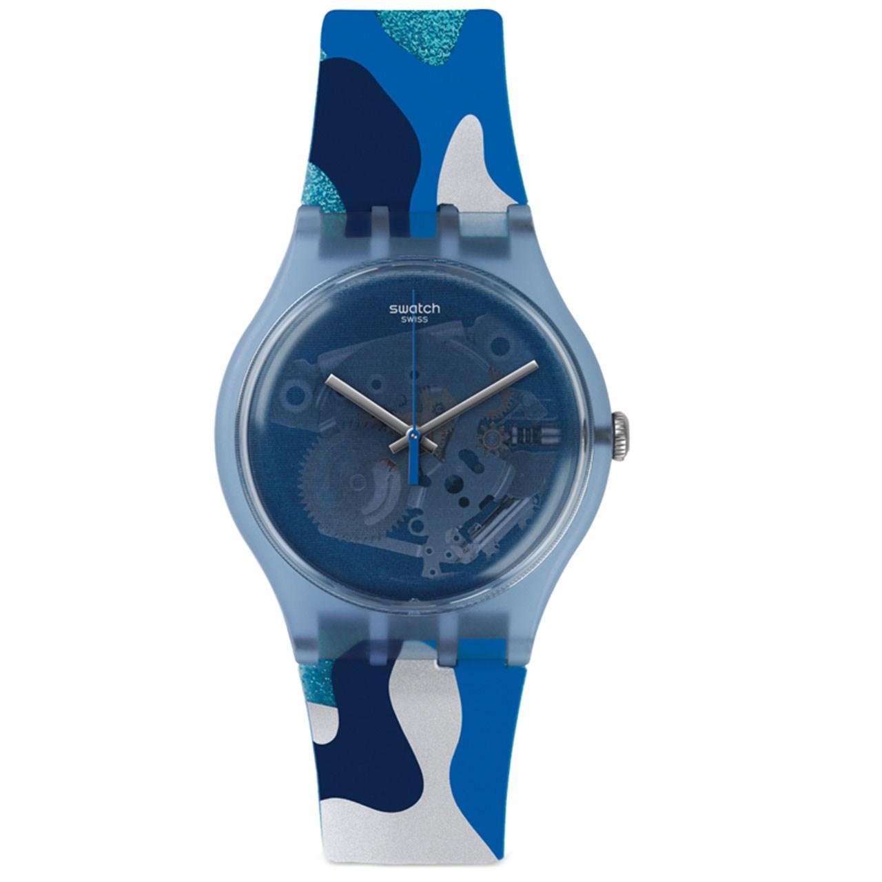 ساعت مچی عقربه ای سواچ مدل SUOZ215