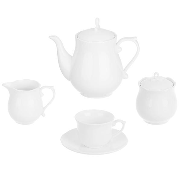 سرویس چای خوری 17 پارچه بی.وی.کی کد VK600601