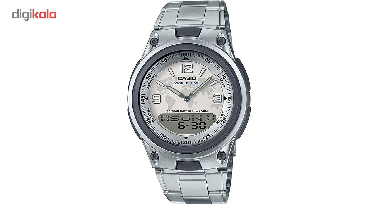 خرید ساعت مچی عقربه ای مردانه کاسیو مدل AW-80D-7A2VDF