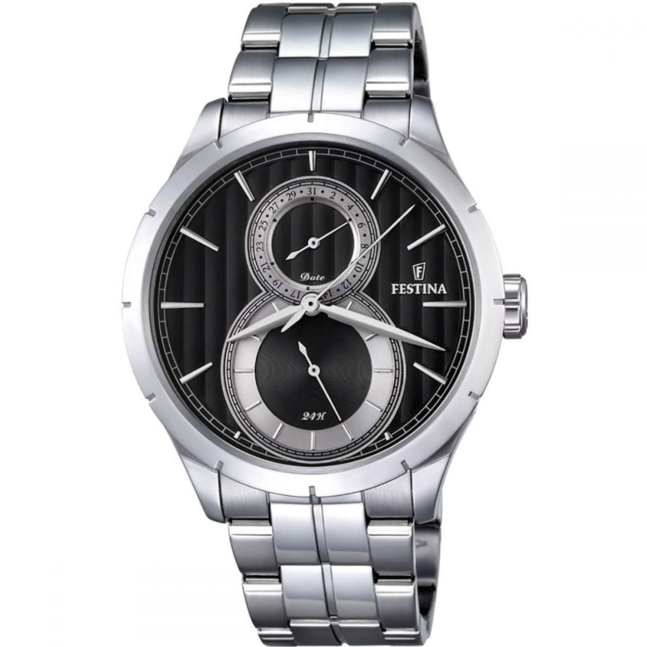 ساعت مچی عقربه ای مردانه فستینا مدل f16891/6 13
