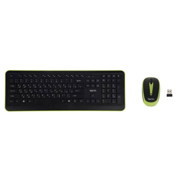 کیبورد و ماوس تسکو مدل TKM 7016W | Tsco TKM 7016W Keyboard and Mouse