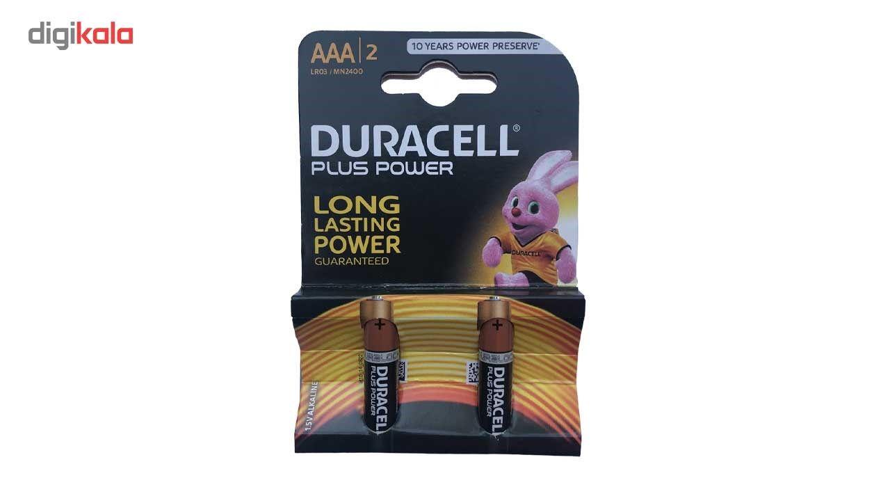 باتری نیم قلمی دوراسل مدل Plus Power بسته 2 عددی main 1 1