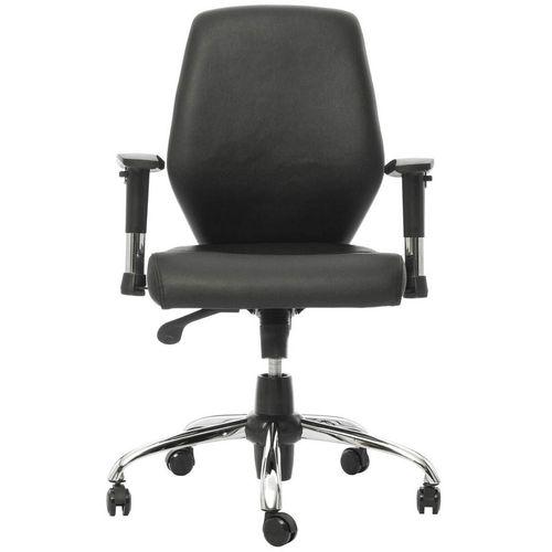 صندلی اداری چرمی راد سیستم مدل E336R