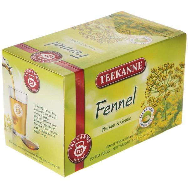چای کیسه ای تی کانه مدل Fennel بسته 20 عددی