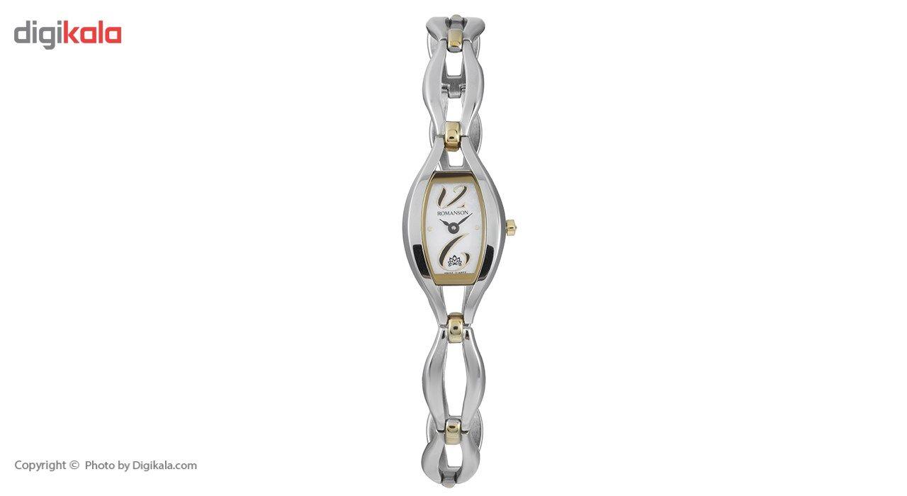 ساعت مچی عقربه ای زنانه رومانسون مدل RM5155LL1CM11B -  - 2
