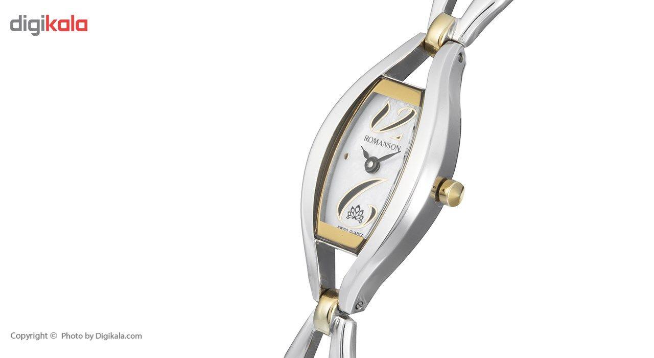 ساعت مچی عقربه ای زنانه رومانسون مدل RM5155LL1CM11B -  - 4