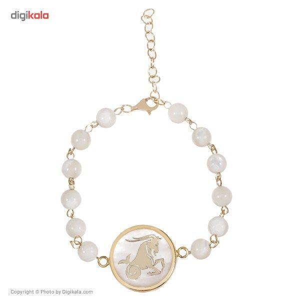 دستبند طلا 18 عیار ماهک مدل MB0113 - مایا ماهک -  - 1
