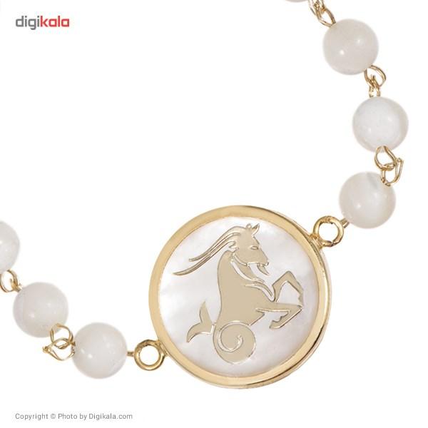دستبند طلا 18 عیار ماهک مدل MB0113 - مایا ماهک -  - 2