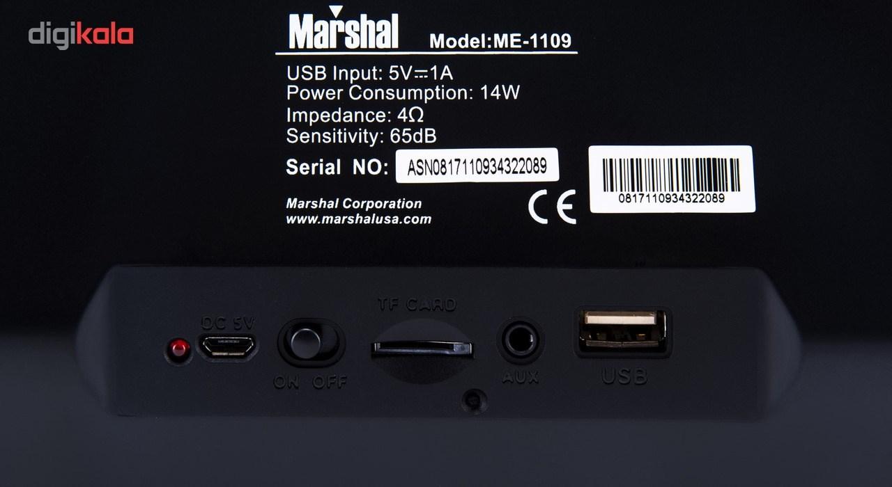 اسپیکر  بلوتوثی قابل حمل مارشال مدل ME-1109