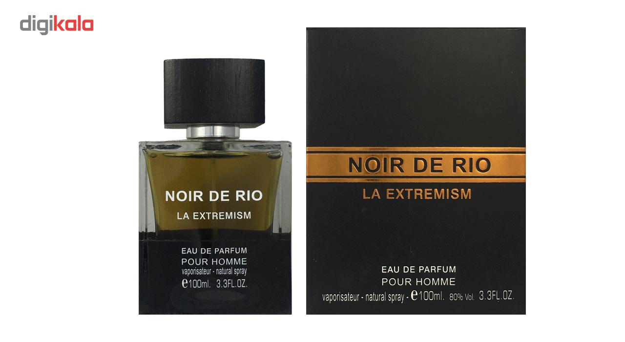 ادو پرفیوم مردانه ریو کالکشن مدل Rio Noir De Rio La Extremism حجم 100ml main 1 1